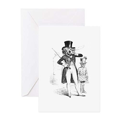 - CafePress A Parisian Lion Greeting Card, Note Card, Birthday Card, Blank Inside Matte
