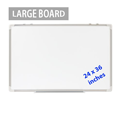 Dry Erase Board 24x36 Large Magnetic Whiteboard With