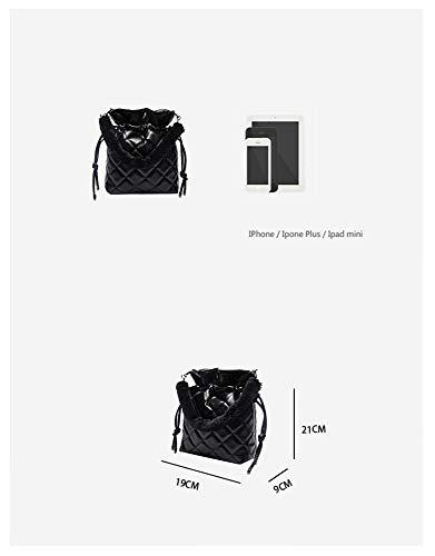 Mujer 18 Rombo Bolso Bandolera Salvaje Para Crossbody Bag Moda Hxkb 4qgXX