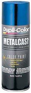 Blue Metal Car - Dupli-Color EMC201007 Blue Metal Cast Anodized Color - 11 oz