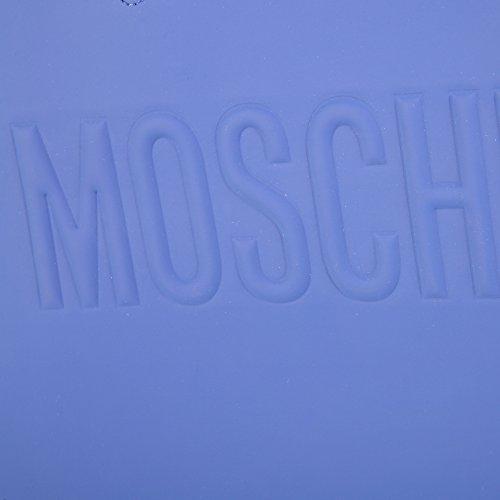 pour à Moschino Bleuet taille unique femme Sac main Bleuet bleu HTqOq