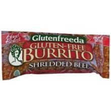 GLUTENFREEDAS Burrito, Beef Shredded, 4 Ounce (Pack of 12) by Glutenfreeda's