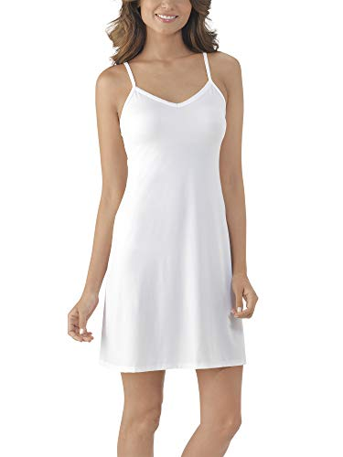 Vanity Fair Women's Full Slip 10141, Star White, Medium