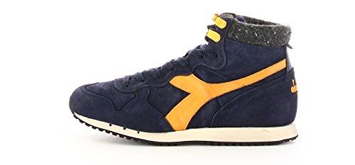 TRIDENT S Heritage 40 Trident Blu Uomo Diadora Sneaker NIGHT MID SWBLU 5PA1q5r
