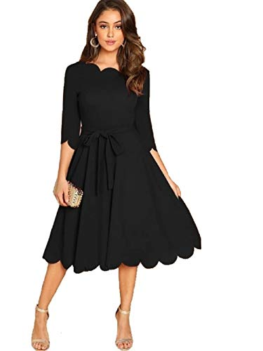 MIZAGO Women's Knee Length Dress