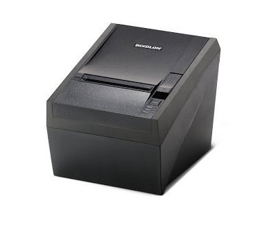 Bixolon SRP-330COSG Series Srp-330 Thermal Receipt Printer with Power Supply and USB Cable, Serial Interface, USB, Black