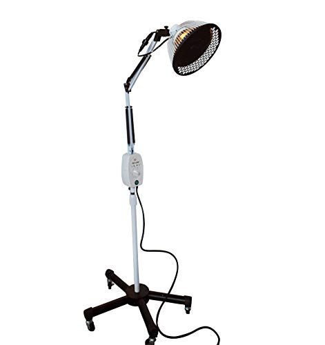 Improved TDP Lamp CQ222 - Genuine 6.5 inch Mineral Plate by VITA Activate | 3rd Generation Mineral Lamp is Best + Detachable Head + Protection Cap