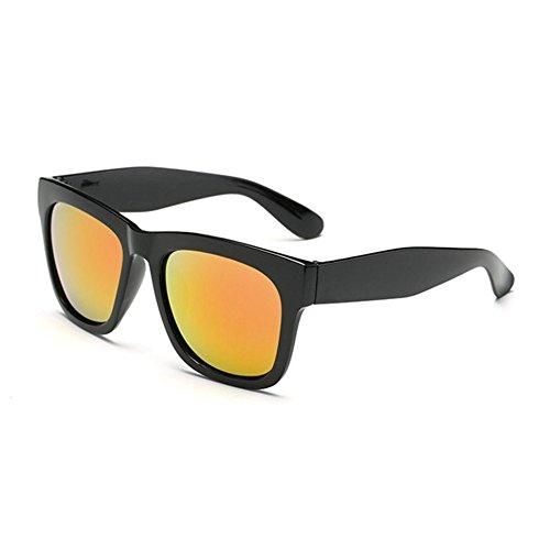 sol las gafas retro C gafas de hombres sol estrellas de grandes señoras de de sol gafas Gafas con Aoligei I1w7qYxW