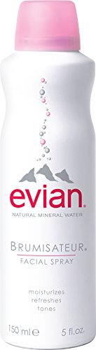 - EVIAN FACIAL SPRAY Natural Mineral Water Facial Spray, 5 oz.