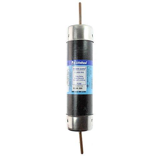 Littelfuse FLSR200 Dual Element Class RK5 Rejection Time Delay Fuse 200 Amp  600 Volt AC 300 Volt DC Powr-Gard™