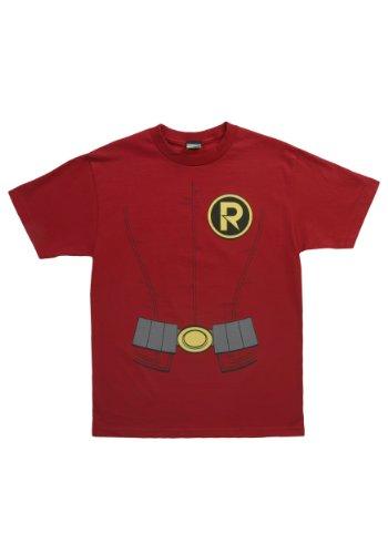 Robin Costume -- DC Comics - The New 52 Adult T-Shirt, -