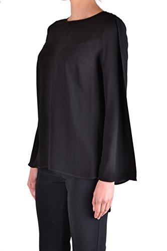 Elisabetta Ezbc050101 Franchi Viscosa Negro Blouse Mujer qwqUAr