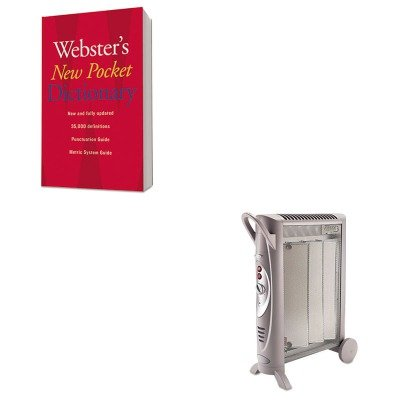 KITBNRBH3950UHOU1019934 - Value Kit - Bionaire Micathermic Element 1500W Console Heater (BNRBH3950U) and HOUGHTON MIFFLIN COMPANY Webster's New Pocket Dictionary (Bionaire Micathermic Element)