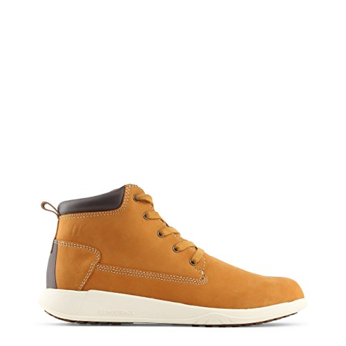 Lumberjack Winter Houston, Desert Boots Homme, Noir Jaune