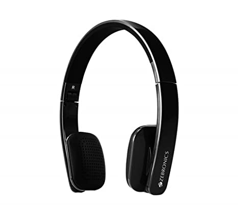 e4ebaad2957 Amazon.in: Buy Zebronics Happy Head Bluetooth Folding Headphone Online at  Low Prices in India | Zebronics Reviews & Ratings