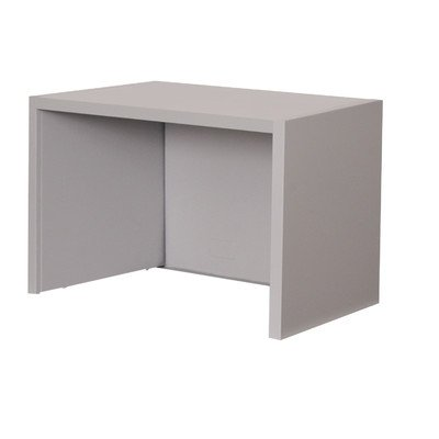 Mailroom Riser for 30'' Corner Table Finish: Slate Gray by Marvel (Image #1)
