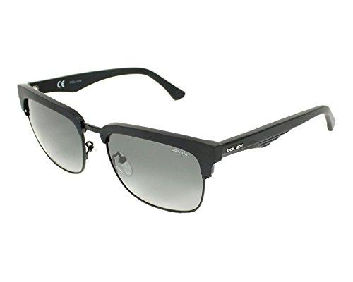 Police Blackbird 1 SPL354 0703 (Matt Black with Grey Gradient lenses)
