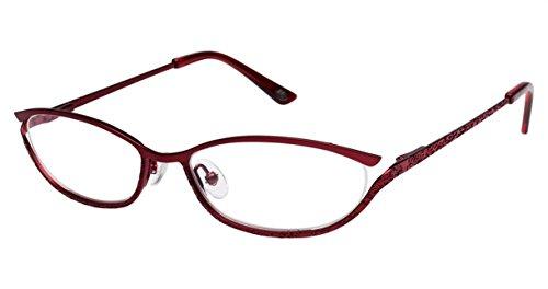 Lulu Guinness Women's Optical Eyeglasses L748 RED Size - Glasses Lulu