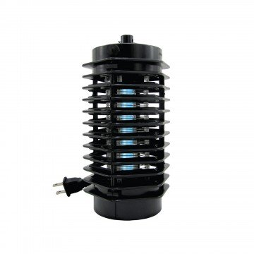 Bug Zapper Electric Indoor Outdoor - Plug In UV Light - Perfect For Porch, Motor Homes, Kitchen and Commercial - Killer Stinger For Mosquitos, Gnats Moths And Flies.