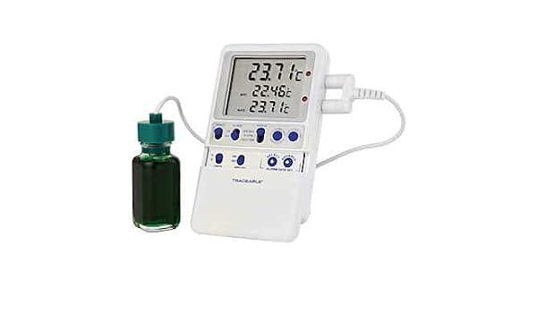 Digi-Sense Termómetro digital calibrado de alta precisión RTD para ...
