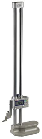 "Mitutoyo 192-631-10 LCD Digimatic Height Gauge, 0-18"" Range, 0.0005"" Resolution, +/-002"" Accuracy, 7.5kg Mass"