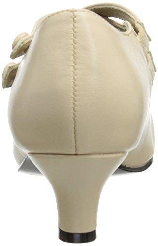 Funtasma - zapatos de tacón mujer crema - CREAM PU
