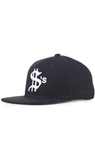 Classy Brand Dollars Team Snapback Hat Black