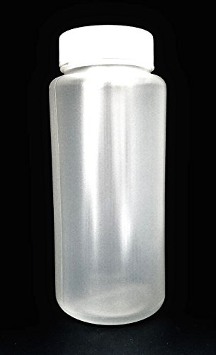 (SPL Polypropylene Wide Mouth Reagent Bottle, 500ml Capacity,Translucent, PP, Autocableve Case of 48)