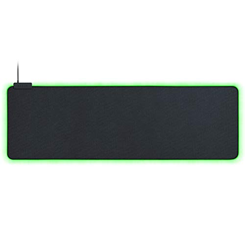 Razer Goliathus Extended Chroma Gaming Mousepad: Customizable Chroma RGB Lighting - Soft, Cloth Material - Balanced Control & Speed - Non-Slip Rubber Base - Classic Black
