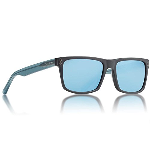Dragon Alliance Adult Blindside Sunglasses - Matte Black Blue by Dragon Alliance