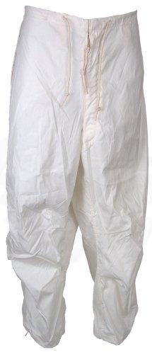 White Camo Pants - 4