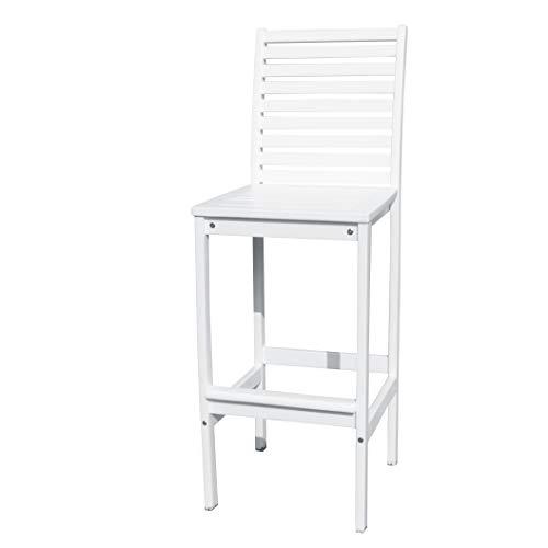 (Vifah V1356 Bradley Outdoor Wood Bar Chair)