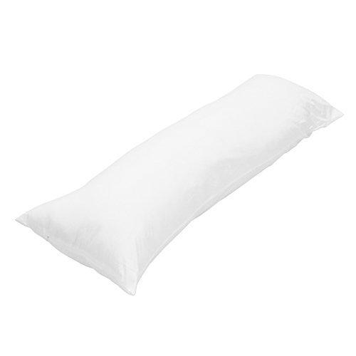 Body Pillow Body Medium Cover Plain High Elasticity and Fluffy Life Large Pillow Long Cushion (160 50 cm)