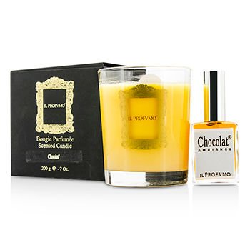 Scented Candle - Chocolat (with Room Frangrance Spray 15ml/0.5oz) for Women 200g/0.7oz