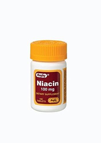 NIACIN 100MG TAB NIACIN-100 MG white 100 TABLETS UPC 005364076012 Review