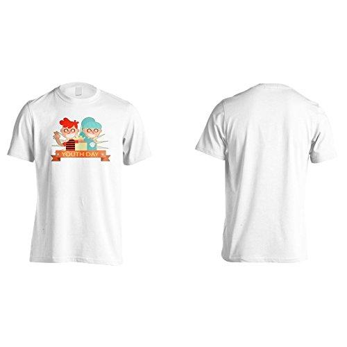 Neue Glückliche Jugend Tag Usa Herren T-Shirt l891m