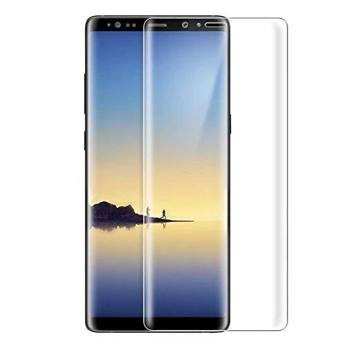 めったに代表するホイットニーSamsung Galaxy Note8 ガラスフィルム Samsung ギャラクシー Note8 au SCV37/docomo SC-01K フィルム 専用 3D曲面 フルカバー フィルム 液晶保護フィルム 保護フィルム 全面保護 極高透過率 強化ガラス