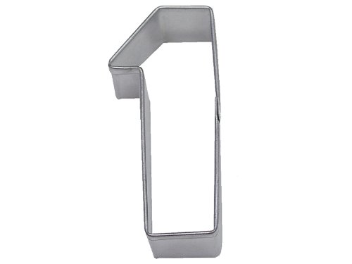 R&M Number 1 Cookie Cutter in Durable, Economical, Tinplated Steel