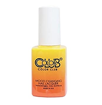 Amazon Com Color Club Mood Changing Nail Lacquer Festival Fun