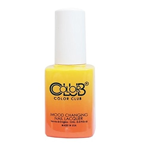 Color Club Mood Changing Nail Lacquer - Festival Fun - 15 mL/0.5 fl oz