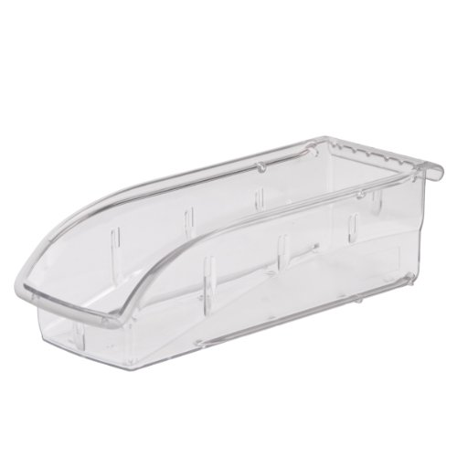 Akro-Mils 305A5 Insight Ultra-Clear Plastic Hanging and Stacking Storage Bin, 10-7/8-Inch Long by 4-1/8-Inch Wide by 3-1/4-Inch Wide, Case of -