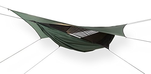 Hennessy Hammock JUNGLE EXPEDITION ZIP - Lightweight Camping and Survival Shelter for Hikers, Boy Scouts, Preppers, Soldiers, Military Units, Explorers, Scientific and Medical Expeditions. (Expedition Single)