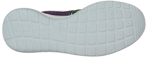 Nike Roshe Run Print 599432-005 - Zapatillas para mujer, color gris, talla 38.5 ALOHA PACK-WHITE/WHITE-BOLD BERRY