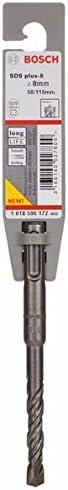 Bosch 1618596172 Foret SDS-Plus-5 pour perforateur 8 x 50 x 115 mm