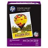 * Color Inkjet Paper, 96 Brightness, 24lb, 8-1/2 x 11, White, 500 Sheets/Ream