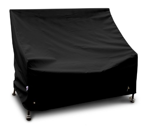 KoverRoos Weathermax 74204 5-Feet Bench/Glider Cover, 75-Inch Width by 28-Inch Diameter by 37-Inch Height, Black by KOVERROOS