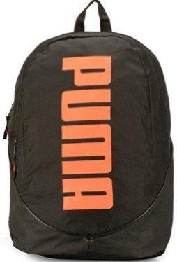 Price comparison product image Puma Pioneer Backpack II Black-Fluo Orange