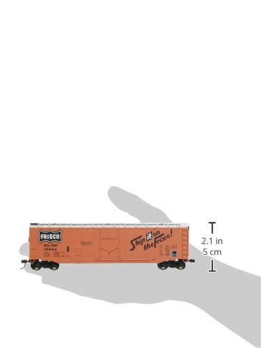 Bachmann Trains Frisco 50 Plug-Door Box Car-Ho Scale