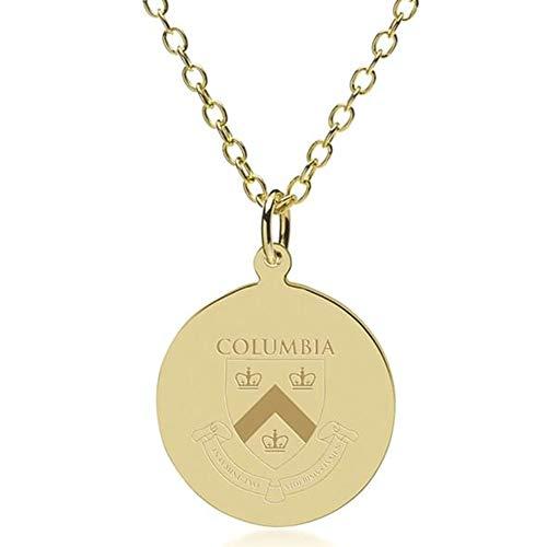 M. LA HART Columbia 18K Gold Pendant & Chain