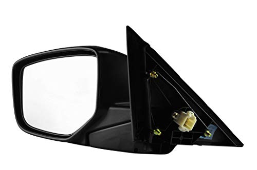 - Driver Side Unpainted Heated Side View Mirror for 2008-2012 Honda Accord